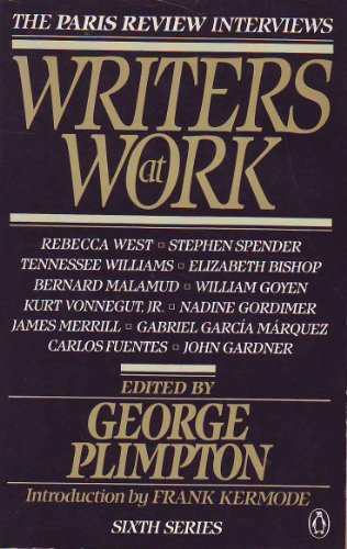 9780140077360: Writers at Work: 6th Series: The