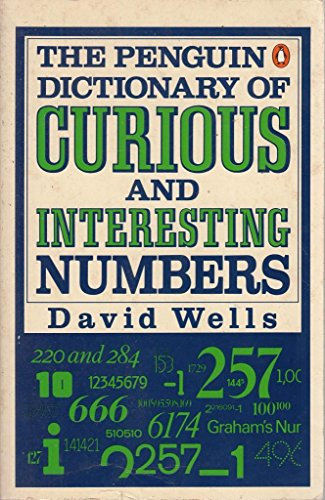 9780140080292: The Penguin Dictionary of Curious and Interesting Numbers