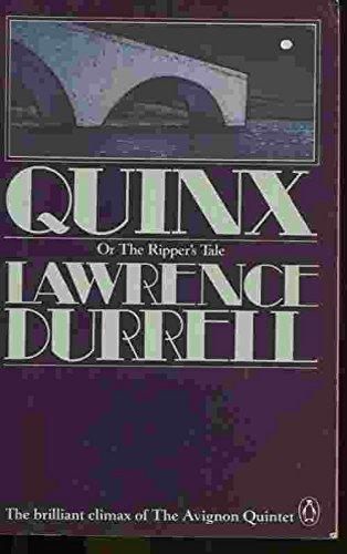 9780140080599: Quinx - Or the Ripper's Tale (Virago Modern Classics)