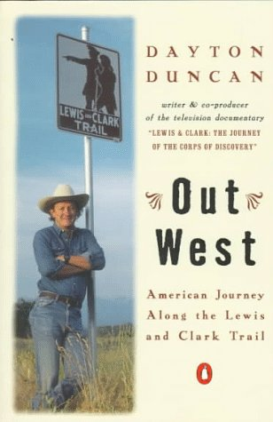 9780140083620: Out West: American Journey along the Lewis and Clark Trail