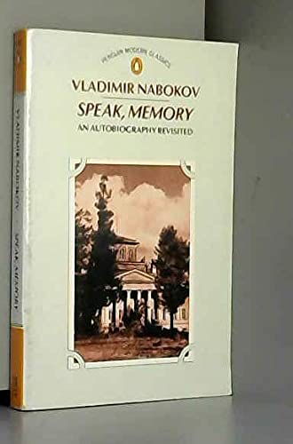 9780140086232: Speak, Memory: An Autobiography Revisited (Modern Classics)