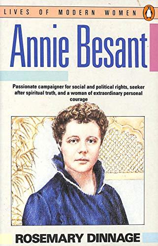9780140086638: Annie Besant (Lives of Modern Women)