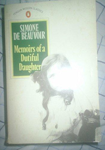 9780140087550: Memoirs of a Dutiful Daughter (Modern Classics)