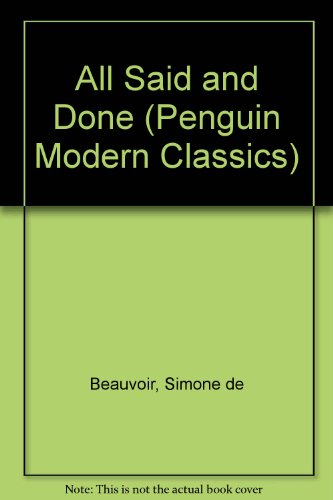 9780140087598: All Said and Done (Penguin Modern Classics)