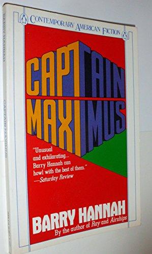 9780140088113: Captain Maximus (Contemporary American Fiction)