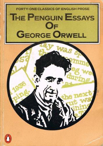 9780140090338: The Penguin Essays of George Orwell
