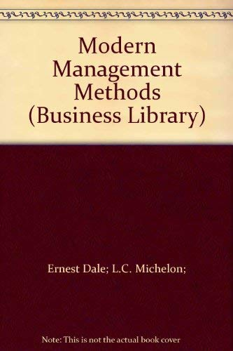 9780140091113: Modern Management Methods (Business Library)