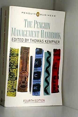 9780140091250: Penguin Management Handbook (Business Library)
