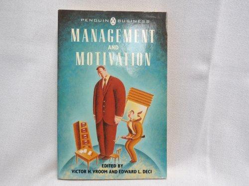 9780140091496: Management and Motivation (Penguin business)