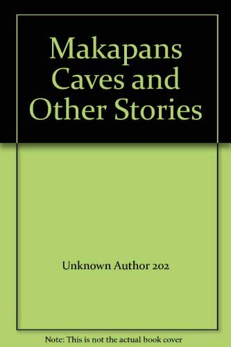 Makapan's Caves and Other Stories