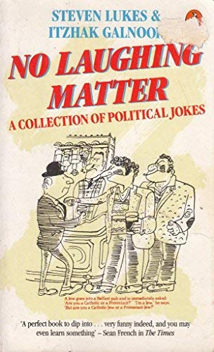 9780140093575: No Laughing Matter: A Collection of Political Jokes