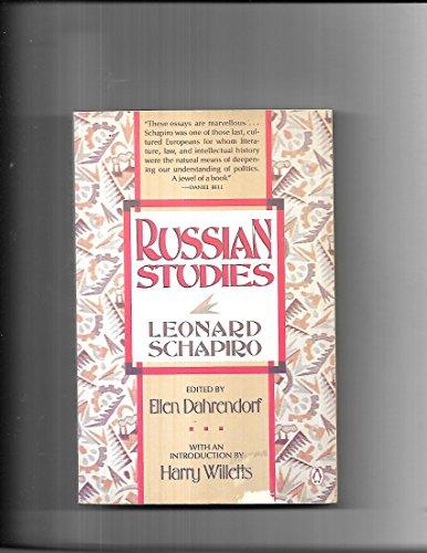 9780140093766: Russian Studies