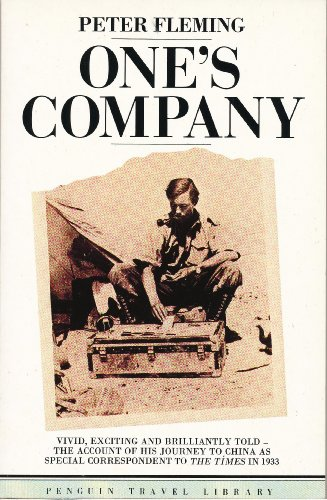 9780140095098: One's Company: A Journey to China, in 1933 (Travel Library)