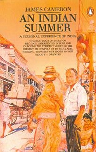 9780140095692: An Indian Summer: A Personal Experience of India