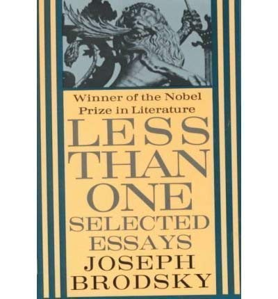 9780140096699: Less Than One: Selected Essays (King Penguin)