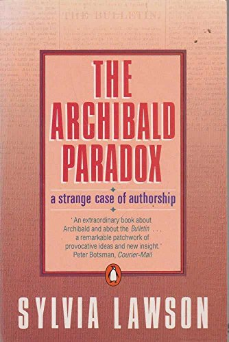 9780140098488: The Archibald paradox: a strange case of authorship