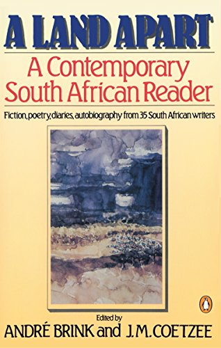 A Land Apart: A Contemporary South African: Various; Andre Brink;