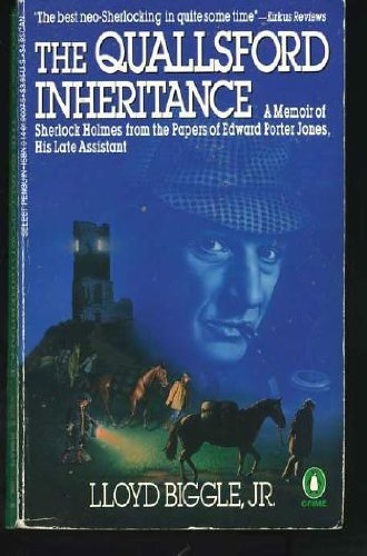 9780140100075: The Quallsford Inheritance : A Memoir of Sherlock Holmes from the Papers of Edward Porter Jones, His Late Assistant