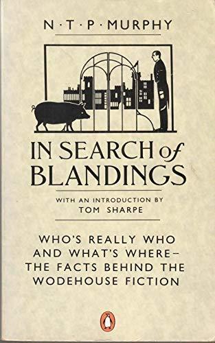 9780140102994: In Search of Blandings