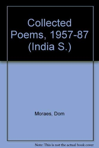 Stock image for Collected Poems, 1957-87 (India S.) for sale by WeBuyBooks