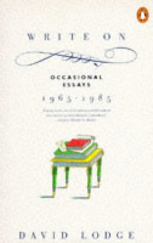 9780140103656: Write on: Occasional Essays, 1965-85