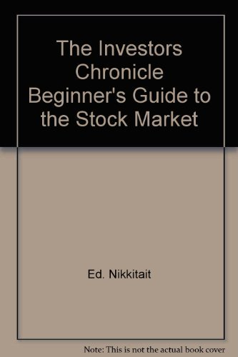 9780140104158: The Investors Chronicle Beginner's Guide to the Stock Market