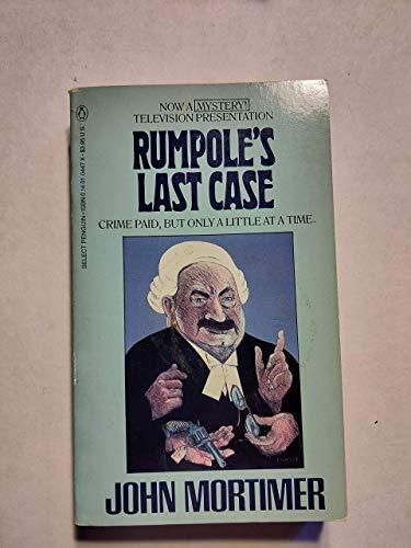 9780140104479: Rumpole's Last Case(USA)