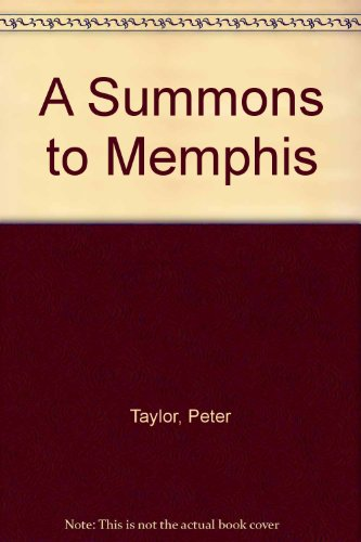 9780140106459: A Summons to Memphis