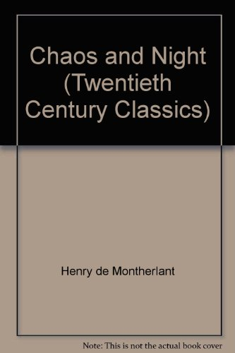 9780140107081: Chaos and Night (Twentieth Century Classics)