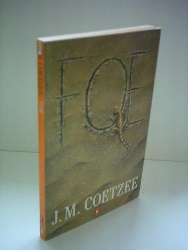 Foe: J.M. Coetzee