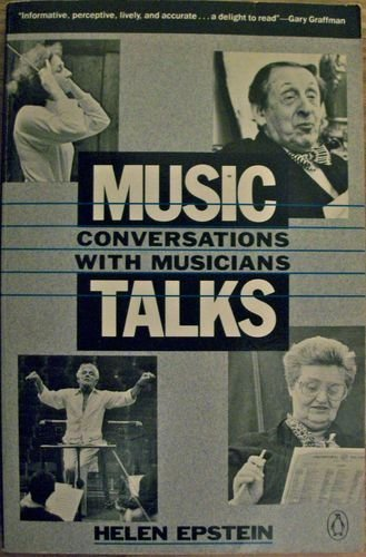 9780140110548: Music Talks: Conversations With Musicians