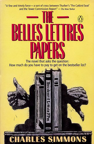 9780140110852: The Belles Lettres Papers