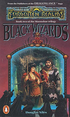 9780140111385: Black Wizards. Forgotten Realms. Book Two of the Moonshae Trilogy