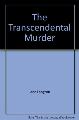 9780140113846: The Transcendental Murder