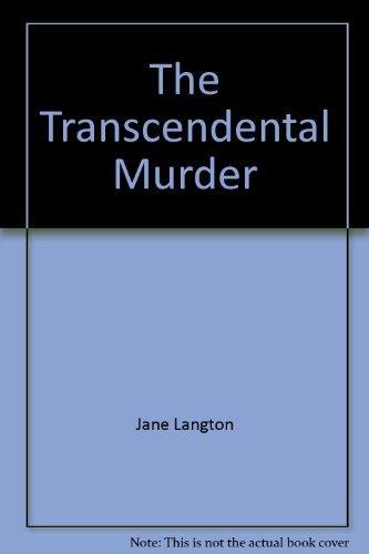 9780140113846: The Transcendental Murder (Homer Kelly Mystery)
