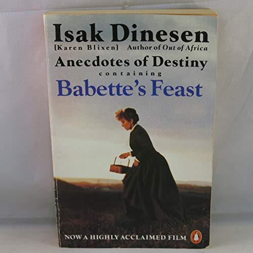 9780140115369: Anecdotes of Destiny