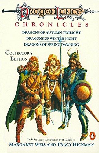 9780140115406: Dragonlance Chronicles: Dragons of Autumn Twilight, Dragons of Winter Night, Dragons of Spring Dawnin