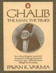 9780140116649: Ghalib: The Man, the Times
