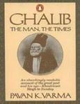 9780140116649: Ghalib: The Man, the Times