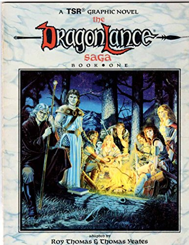 9780140117172: Dragonlance Saga Book 1:A Graphic Novel (TSR Fantasy)