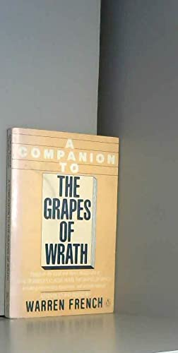 9780140119879: A Companion to the Grapes of Wrath