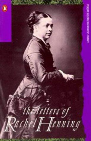 9780140120479: The Letters of Rachel Henning (Penguin Australian womens library)