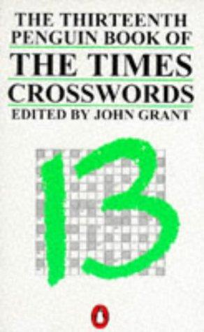 9780140121131: Times Crosswords, The Thirteenth Penguin Book of (London Times Crosswords)
