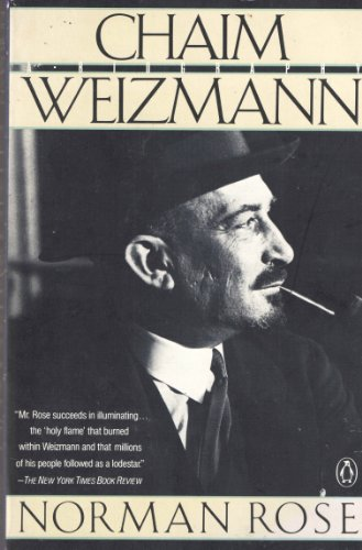 9780140122305: Chaim Weizmann