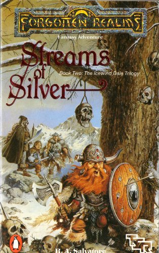 9780140123630: Forgotten Realms: Streams Of Silver (Book Two: The Icewind Dale Trilogy)