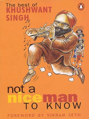 9780140124286: Not a Nice Man to Know: The Best of Khushwant Singh