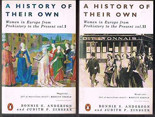 9780140125023: A History of Their Own: Women in Europe from Prehistory to the Present, Vol. 1