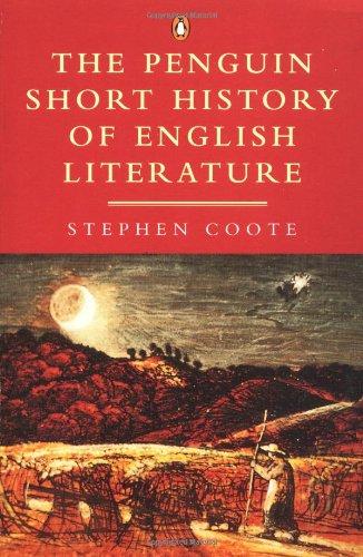 9780140125313: The Penguin Short History of English Literature (Penguin Literary Criticism S.)