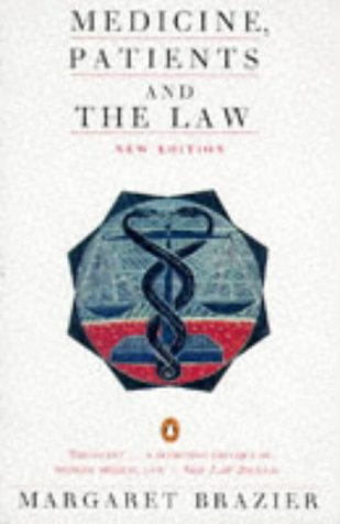 9780140127492: Medicine Patients And The Law 1st Edition (Penguin law)