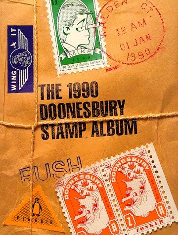 9780140128093: Trudeau Garry : Doonesbury Stamp Book